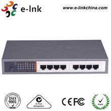 E-link 2017 New Product 8-port 10/100/1000Mbps Gigabit Ethernet PoE switch