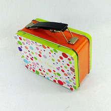 children's rectangular lunch tin box