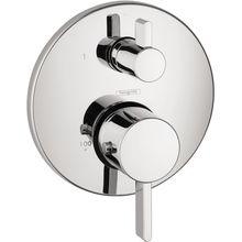 Hansgrohe 04231000 S Thermostatic Trim With Volume Control And Diverter