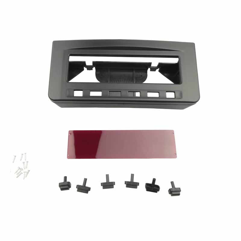 For Mitsubishi Pajero Sport Triton <strong>L200</strong> Mornitor MID Radio <strong>DVD</strong> Middle Stereo Panel Dash Mounting Installation Trim Kit Fascia