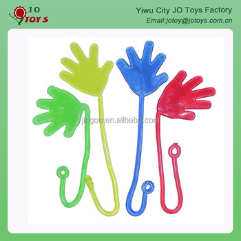 Plastic Small Sticky Hand Toys with yoyo