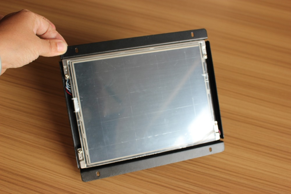 VGA OEM 8.4-inch open frame lcd monitor with touch screen