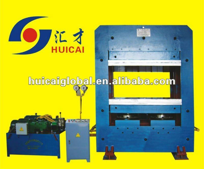 rubber machinery/rubber sheet vulcanizering press/tire making machine