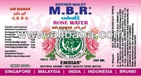 M.B.R. ROSE WATER ALSO KNOWN AS M.B.R AIR MAWAR ORGINAL SINCE EARLY 1940'S