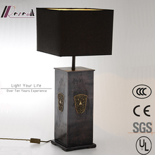 Guzhen Lighting Bedside Resin Artistic Antique Decorate Hotel Table Lamp