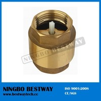 Price Brass Spring Check Valve with Plastic Cartridge