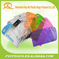 Promotional wholesale pvc clear smart phone case packing bags