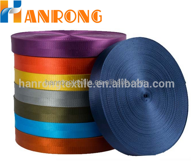 Colorful nylon ribbon pattern Nylon webbing