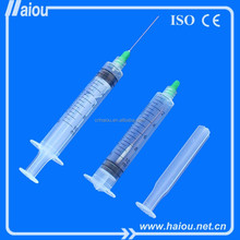 0.5ml 1ml 2ml 3ml 5ml 10ml disposable syringe and needle with FDA WHO