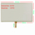 7 inch 4 wire resistive touch screen handheld x10 x20 navigation device E road navigation digitizer 161mm * 97mm
