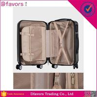 In stock abs+pc laptop trolley luggage bag big lots luggage fashion india luggage trolly bag with low price