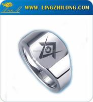 wholesale masonic titanium rings without stones ring for man