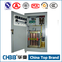 SBW 80kva 3 phases ac full automatic compensated voltage stabilizer