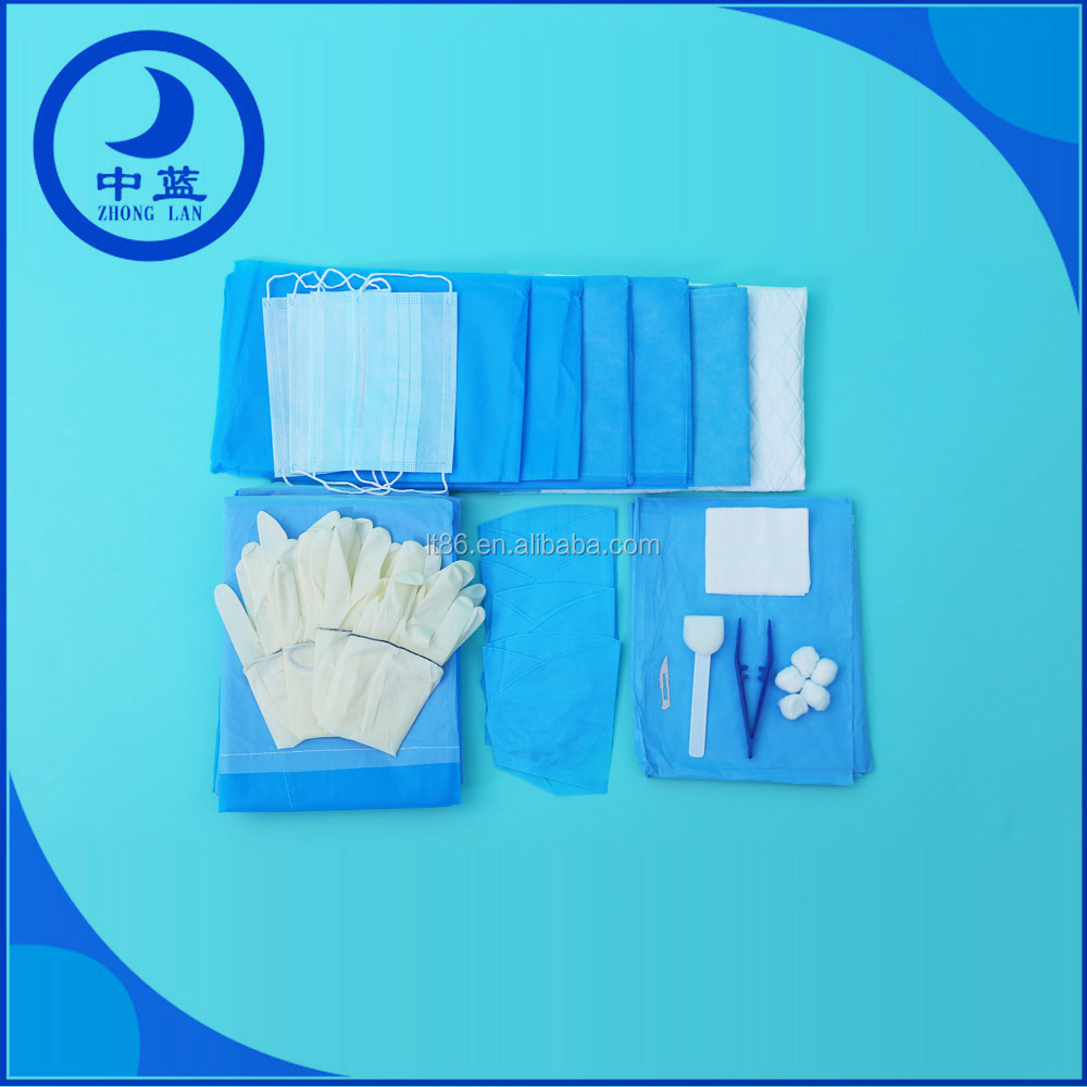 Sterile Medical Examination and Surgical Kit with Operation Towel