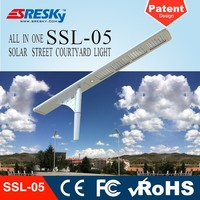 Factory Directly Hot Sale Integrated Solar Street Light Price List