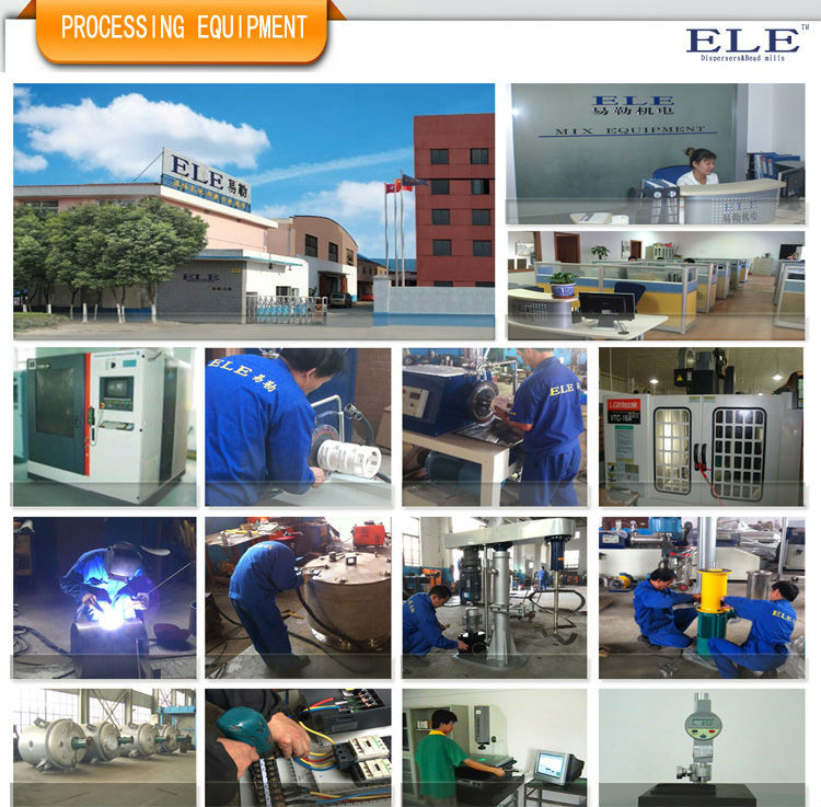 ELE high efficiency pearl grinding mill for ink
