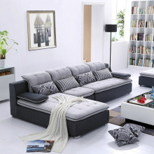 Hot sales <strong>Modern</strong> Design Living Room Sofa Fabric Sectional Sofa Set