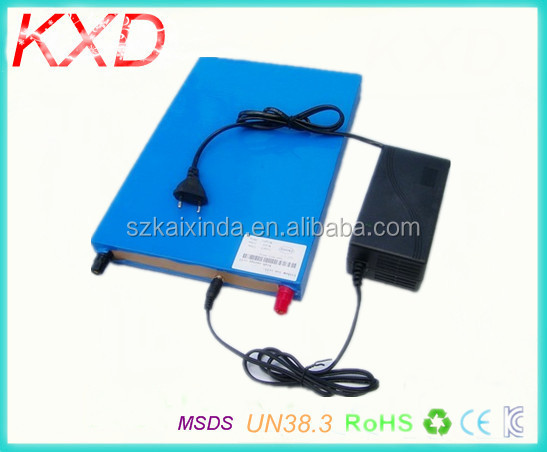 KXD lipo battery 30ah 12v for fishing inverter