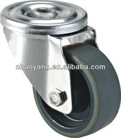 "light duty stainless pu / nylon / rubber castors / casters 3""-8"""