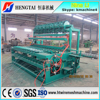 China Factory! Automatic Animal Fence Wire Mesh Weaving Machine