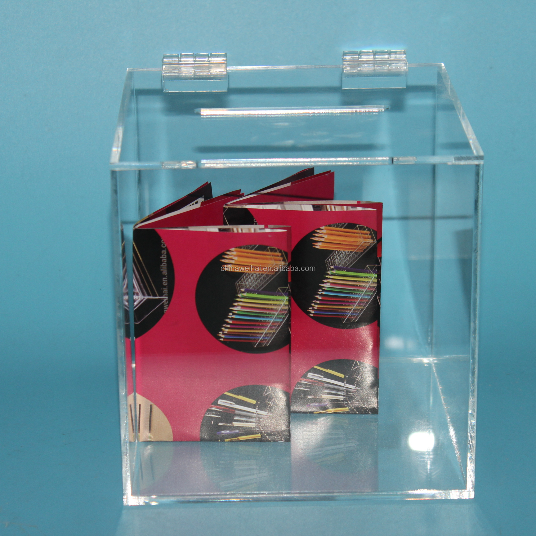Clear Acrylic Box With Slots