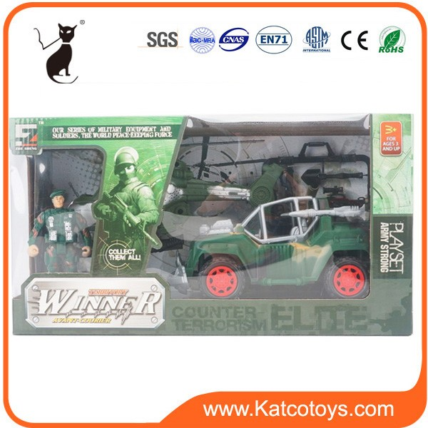 Most popular plastic soldiers military toys play set for boy