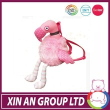 ICTI SEDEX BSCI high quality stuffed flamingo bird
