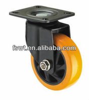 Medium Duty Ball Bearing Polyurethane PU Swivel Caster Wheel