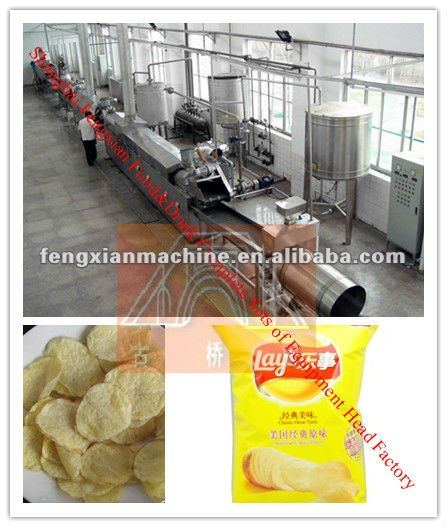 High Quality & Full Automatic Potato Chips Product Line