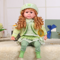 Hot sale Intelligent baby doll toy,Intelligent dialogue real doll,baby talking doll
