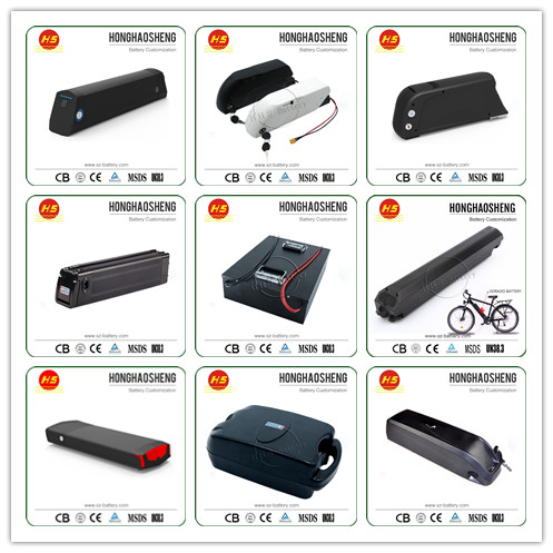 High quality 36V 10.4Ah down tube Lithium Battery for Ebike