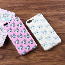 High quality TPU mobilephone case sublimation mobile cover luxury mobile phone accessory for iPhone 8 plus