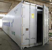 Walk In conditioner freezer room, Deep frozen container for meat fish and seafood