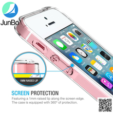 New design Transparent TPU PC Case For Iphone SE Fast Delivery Phone Case