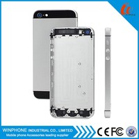 Wholesale original spare parts for iphone 5 back cover housing black and white