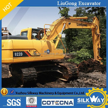 Liugong excavator with bucket volume 1.2m3,1m3, 0.9m3