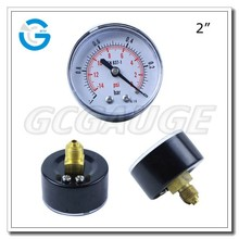 High quality dry black steel pressure vacuum gage