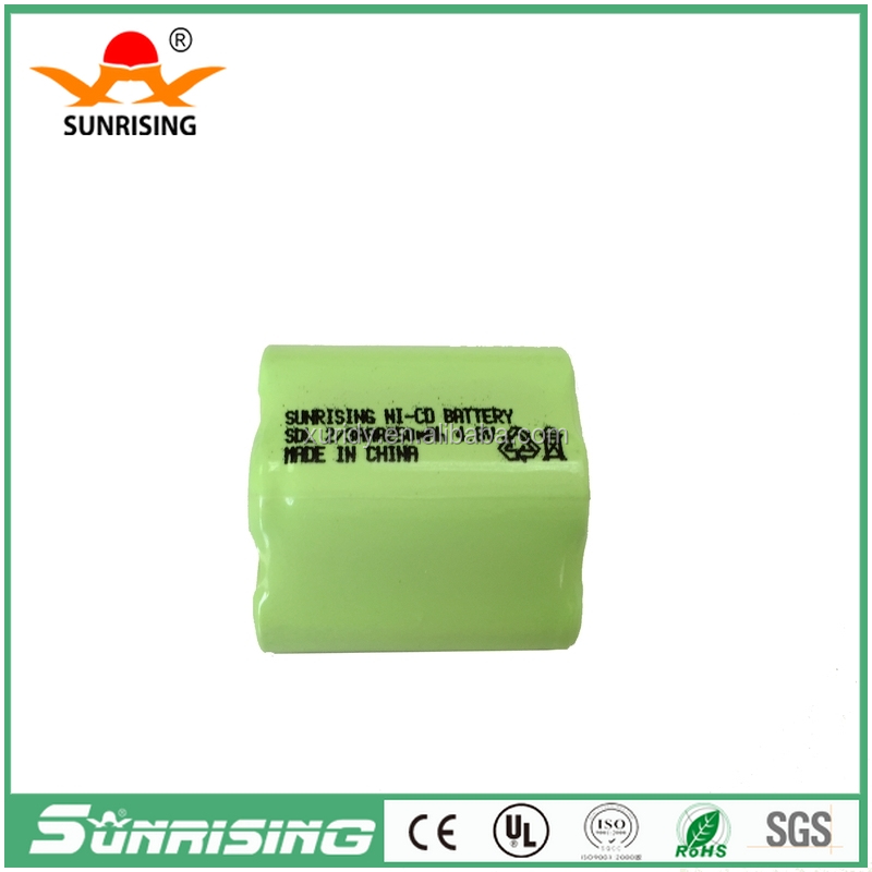 4.8v Nicd 2/3AAA 250mah rechargeable battery pack