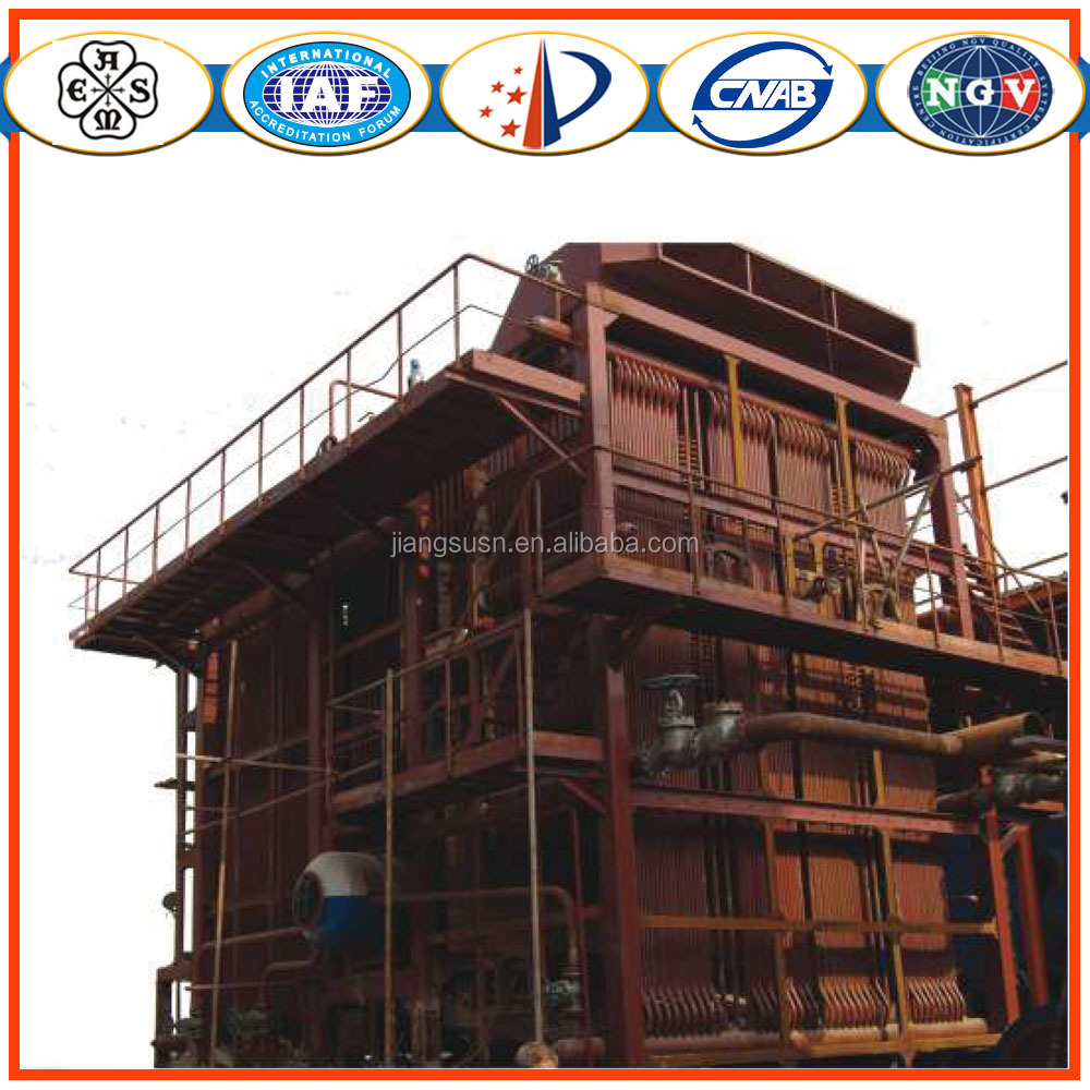 DHL corner tube coal fired steam boiler