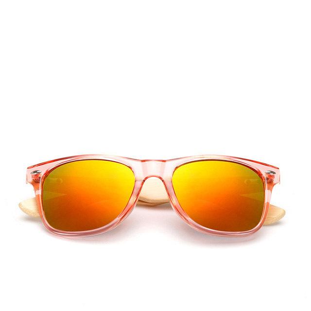 Cheap handmade wooden bamboo brand sports sunglasses in china