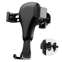 2018 new idea products ABS Silicon 360 Gravity Mount Stand Holder for iphone Air Vent Mobile Phone car Holder for smartphone