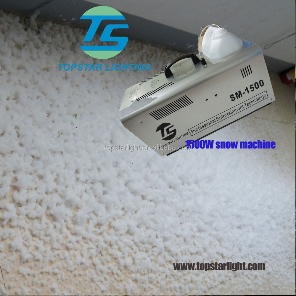 best price stage effect machine1500W indoor snow machine from china