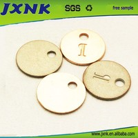 one hole metal decoration accessories for bags
