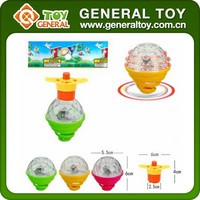 5.5*5.5*6cm Kids Plastic LED Spinning Top Toy