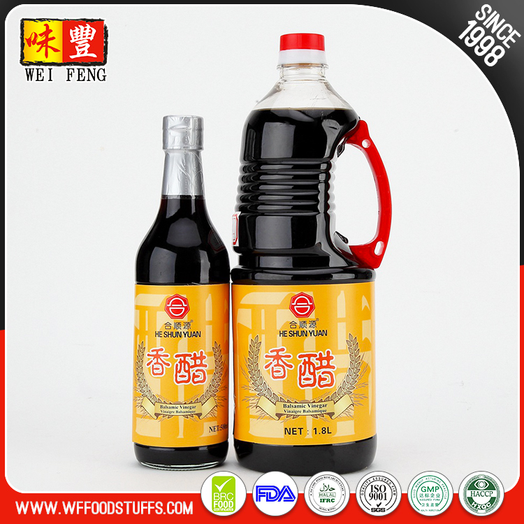 Chinese Natural 500ML black Balsamic Vinegar