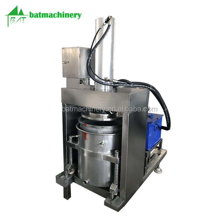 Electric pressing soy sauce wine enzyme lees vinasse hydraulic press machine
