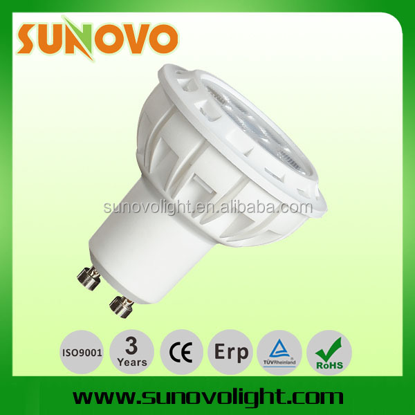 BEST PRICE! 7W GU10 COB LED Spotlight CRI>80 580LM WARM WHITE COOL WHITE NATUARL WHITE pf>0.5