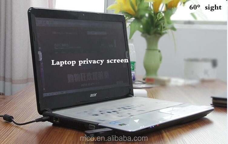 for laptop privacy screen protectpr 180 degree anti-peeping pet film