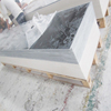20mm 30mm solid surface sheet/artificial quartz stone and engineered quartz stone