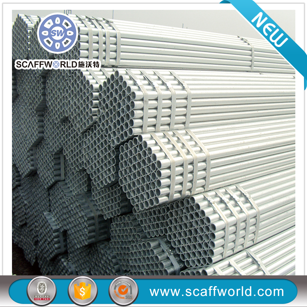 Steel Galvanized Scaffolding Pipe weights